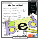 Get Ready for Bed - B and D Reversals - Literacy & Craft