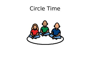 Get Ready for Circle Time {Powerpoint for Students with Autism}