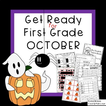 Get Ready for First Grade OCTOBER