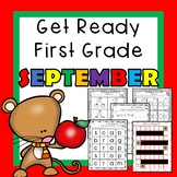 Get Ready for First Grade SEPTEMBER