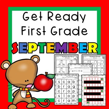 Get Ready for First Grade SEPTEMBER