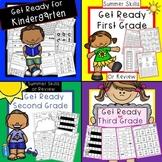Get Ready for Kindergarten, First Grade, Second Grade, Third Grade Bundled!