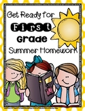 Get Ready for First Grade Weekly Summer Homework