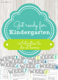 Get Ready for Kindergarten - Summer Review