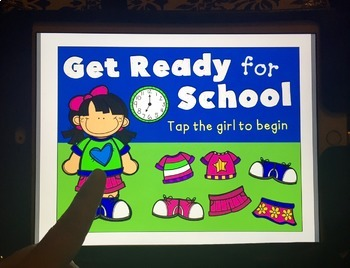 Get Ready for School: A NO-PRINT Dress Up Game FREEBIE