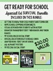 Get Ready for School!  Special Education Survival Bundle
