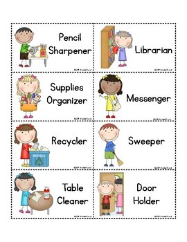 Get Ready for School (ideas for teachers)
