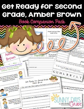 Get Ready for Second Grade Amber Brown Unit