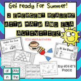End of Year Summer Readers with Math & LA Activities