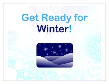 Get Ready for Winter - Sensory Story