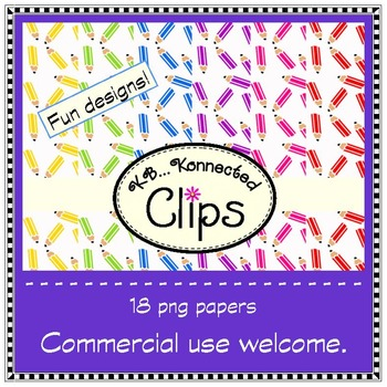 Get Ready for a Colorful Year Paper Collection - Clip Art
