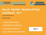 "Get Ready legal translation services in Dubai,UAE ""100% Real Translation Company"
