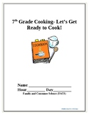 Get Ready to Cook Unit Lessons