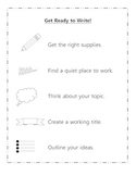 Get Ready to Write!