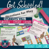 Get Schooled! Game: Figurative Language and Literary Term Practice