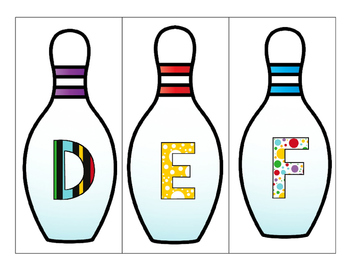 Get Set Alphabet Bowl