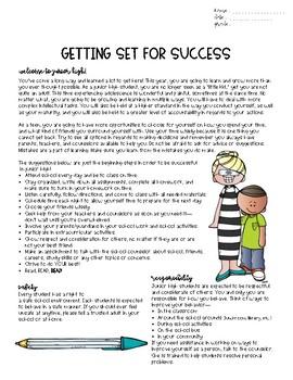 Get Set for Success Junior High Syllabus