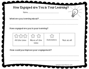 Get Students Talking About Their Learning and Engagement