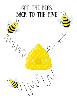 Get The Bee to the Hive Freebie