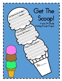 Get The Scoop - 1st, 2nd Writing Prompt Project