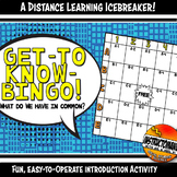 Get-To-Know Bingo Icebreaker Activity for Distance Learnin