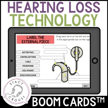Get To Know Hearing Technology Boom Cards™ Cochlear Implants Hearing Aids