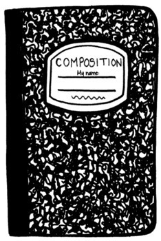 Get To Know Me Activity---Composition Notebook