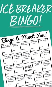 Get To Know You Bingo Freebie