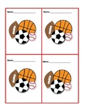 Get To Know You Cards/Grouping in P.E. Class graphics http
