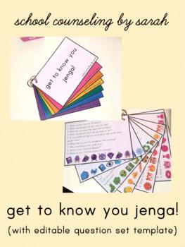 Get To Know You Jenga