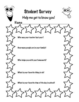 Get To Know Your Students