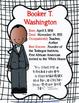 Get To Know...African Americans Series-Booker T. Washington FREEBIE