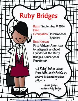 Get To Know...African Americans Series Ruby Bridges