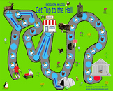 Get Tup to the Hall Gameboard--Make learning to read fun.