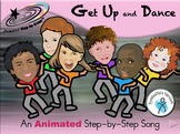 Get Up and Dance - Animated Step-by-Step Song - SymbolStix