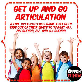 Get Up and Go Articulation: R, R Blends, L, L Blends