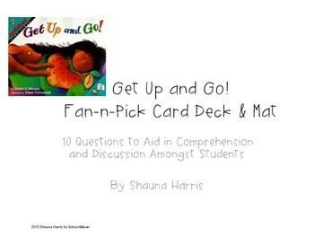 Get Up and Go Fan and Pick Cards