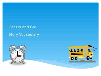 Get Up and Go! Vocabulary PowerPoint