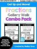 Get Up and Move! {A Fraction Gallery Walk COMBO PACK} BUNDLE