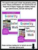 Get Up and Move! {A Geometry Gallery Walk COMBO PACK}