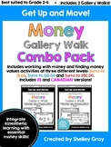 Get Up and Move! {A Money Gallery Walk COMBO PACK} BUNDLE