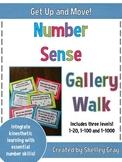Get Up and Move! {A Number Sense Gallery Walk}