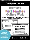 Get Up and Move! {A Ten Frame Fact Family Gallery Walk}