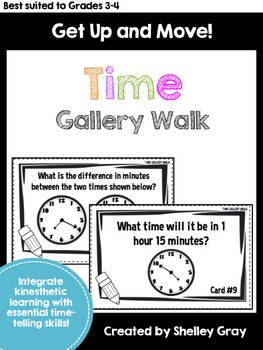 Get Up and Move! {A Time Gallery Walk}
