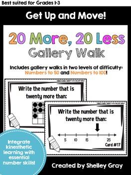 Get Up and Move! {A Twenty More, Twenty Less Gallery Walk}
