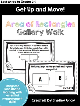 Get Up and Move! {An Area Gallery Walk}
