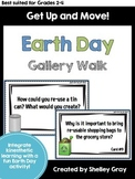 Get Up and Move! {An Earth Day Gallery Walk}
