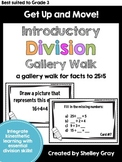 Get Up and Move! {An INTRODUCTORY Division Gallery Walk}