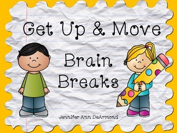 Get Up and Move: Classroom Brain Breaks