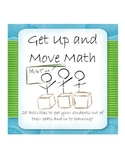 Idea Book: Get Up and Move Math (Algebra, Geometry, Class Activities)